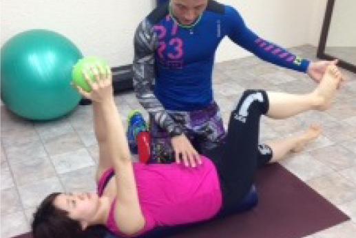 骨盤矯正トレーニング イメージ